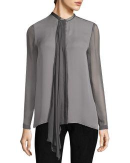 Vincenza Silk Blouse