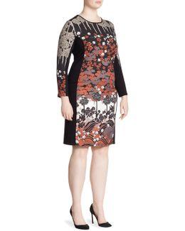 Bodycon Floral Dress