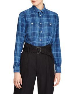 Plaid Button-down Workshirt