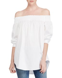 Three-quarter Cotton Shirt