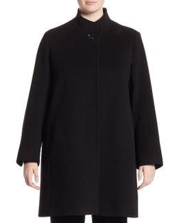 Hidden Closure Coat