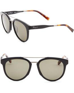 55mm Wayfarer Sunglasses