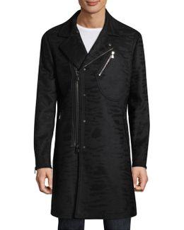 Slim-fit Asymmetrical Coat