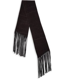 Double Layer Wool Scarf