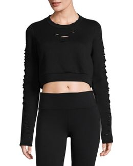 Ripped Warrior Long-sleeve Top