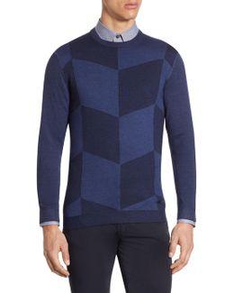 Slim-fit Wool Pullover
