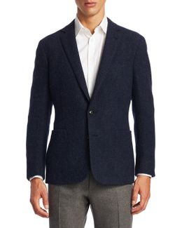 Slim-fit Basketweave Hadley Sportcoat