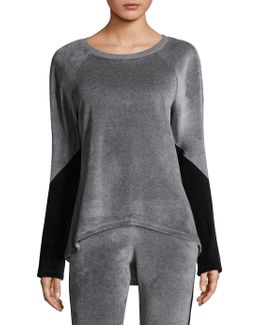 Volt Velvet Sweatshirt