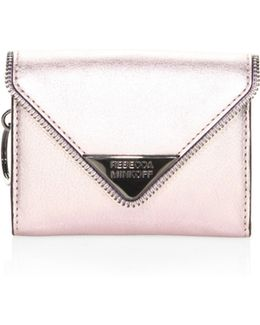 Molly Metro Leather Clutch