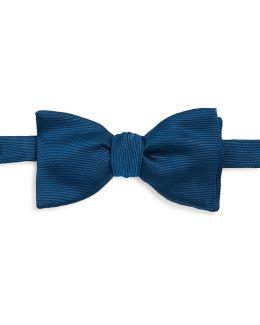 Peacock Silk Bow Tie
