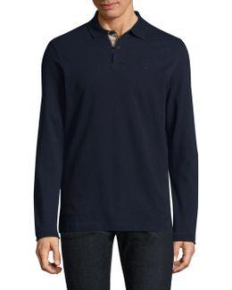 Long Sleeves Cotton Polo