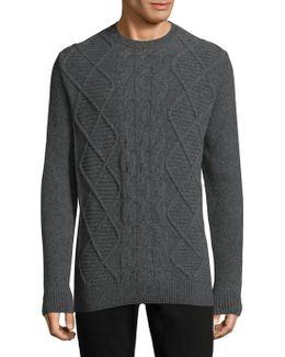 Dean Crewneck Wool Sweater