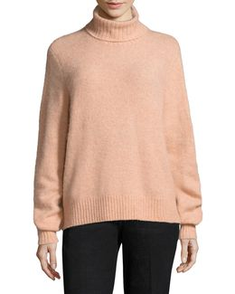 Slouchy Turtleneck Sweater