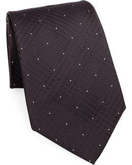 Silk Dot Tie