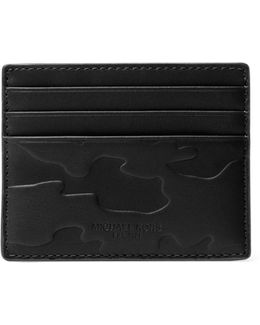 Embossed Leather Card Case