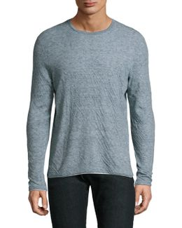 Knitted Crewneck Sweater