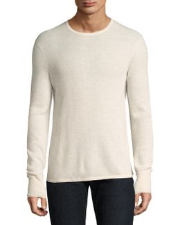 Knitted Long-sleeve Sweater