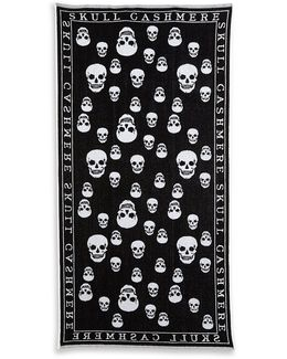 Skull Cotton Towel