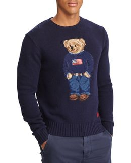 Iconic Polo Bear Wool Sweater