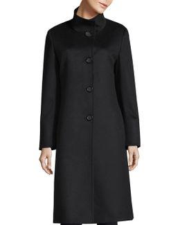 Coal Cashmere Coat