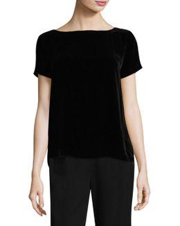Velvet Tee Shirt