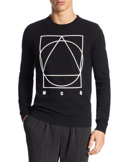 Knitted Graphic Sweater