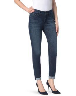 Girlfriend In Morgan Jeans