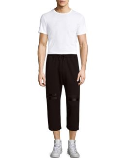 Cropped Jogger Pants