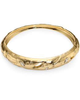 Elements Rocky Tapered Crystal Bangle