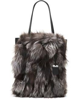 Eleanor Fox Fur Tote