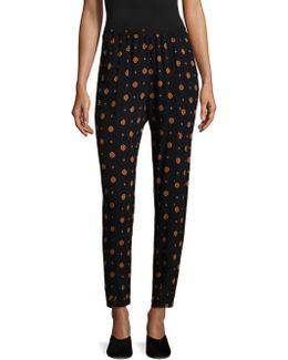 Shirt-up Printed Lounge Pants
