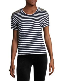 Striped Roundneck Tee
