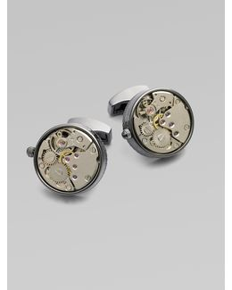 Skeleton Cuff Links