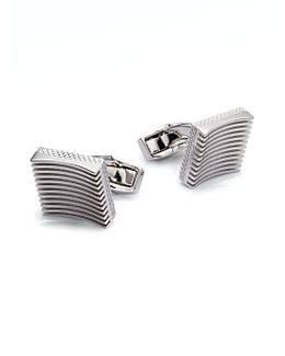 Zen Garden Cuff Links/square