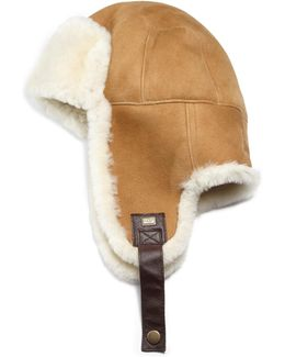 Sheepskin Stoneman Trapper Hat