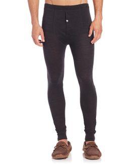 Light Merino Wool & Silk Pajama Pants