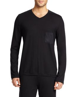 Harrison V-neck Pocket Tee