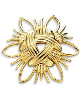Abstract Sunburst Pin