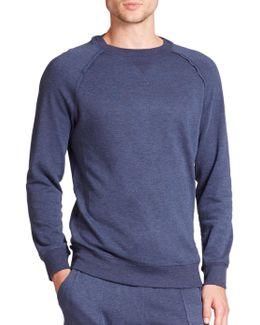 Terry Pullover Sweatshirt