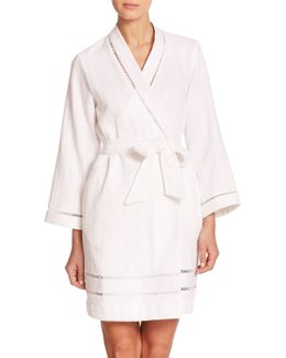Luxe Spa Short Cotton Robe