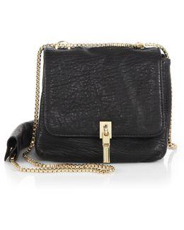 Cynnie Mini Bubble-leather Double Shoulder Bag