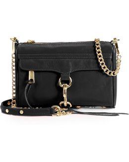 Mini Mac Leather Chain Clutch