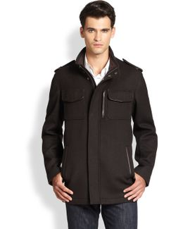 Modern Twill Military Jacket
