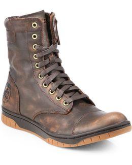 Tatradium Basket Butch Zip Boots