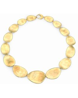 Lunaria 18k Yellow Gold Collar Necklace