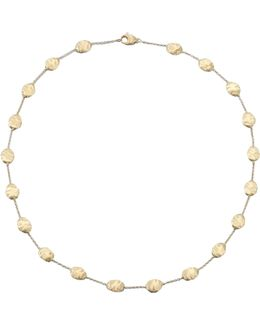 Siviglia 18k Yellow Gold Station Necklace
