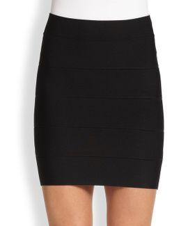 Simone Banded Skirt