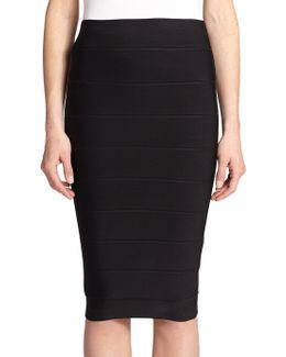 Leger High-waist Bandage Skirt
