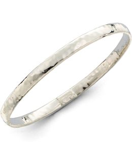 Glamazon Sterling Silver Flat Bangle Bracelet