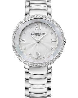 Promesse 10199 Stainless Steel Bracelet Watch